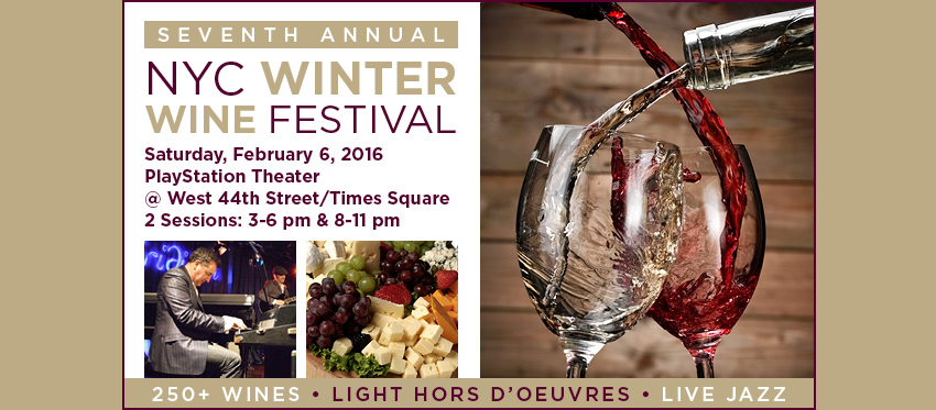 Tickets for NYC Winter Wine Festival in New York from ShowClix