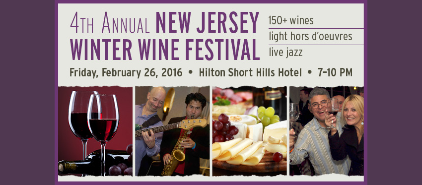 Tickets for New Jersey Winter Wine Festival in Short Hills from ShowClix