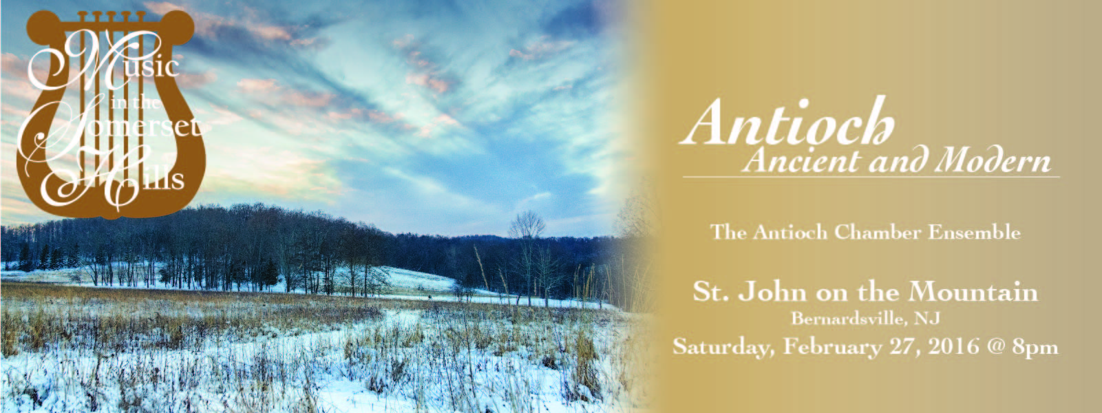 Tickets for Antioch Chamber Ensemble - Living Music in Bernardsville from ShowClix