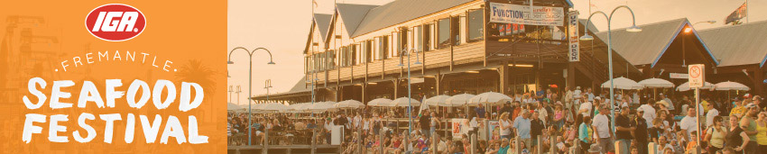 Tickets for IGA Fremantle Seafood Festival in Fremantle from Ticketbooth
