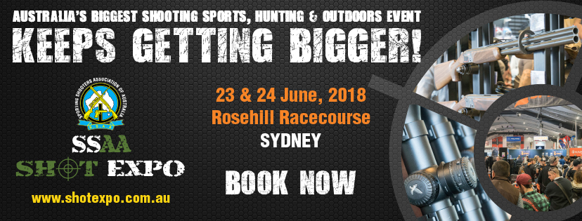 Tickets for SSAA SHOT Expo Sydney 2016 in Rosehill from Ticketbooth