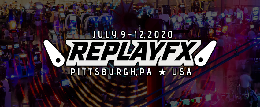 Application for Replay FX 2020 Pinburgh Waitlist in Pittsburgh from ShowClix