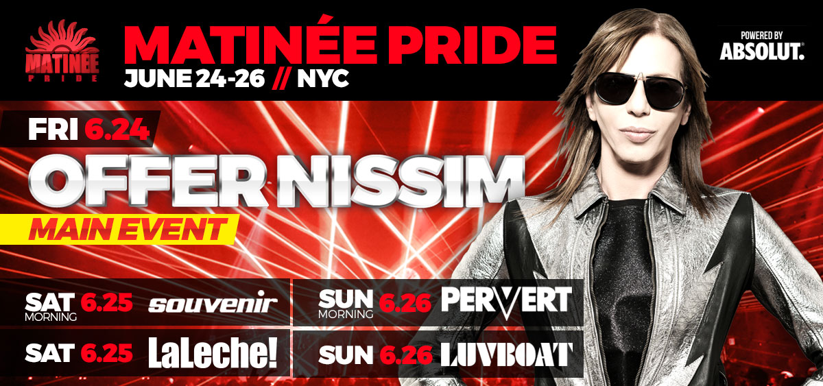 Tickets for MATINEE New York Pride 2012 in New York from ShowClix