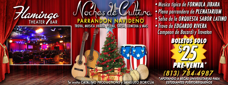 Tickets for Noches de Cultura™- Parrandon Navideño in Miami from ShowClix