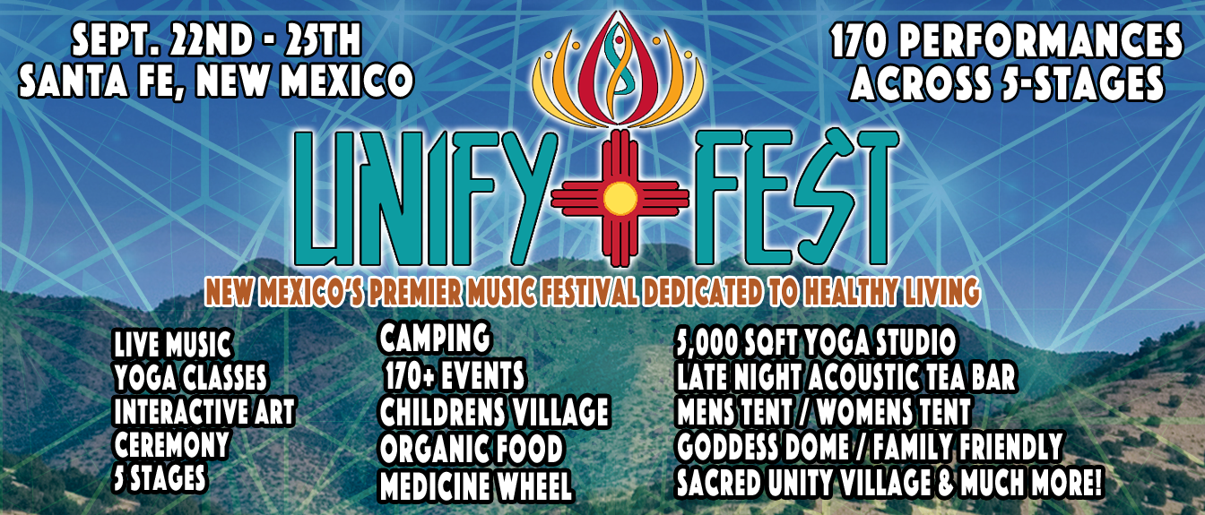Tickets for Unify Fest in Santa Fe from BrightStar Live Events