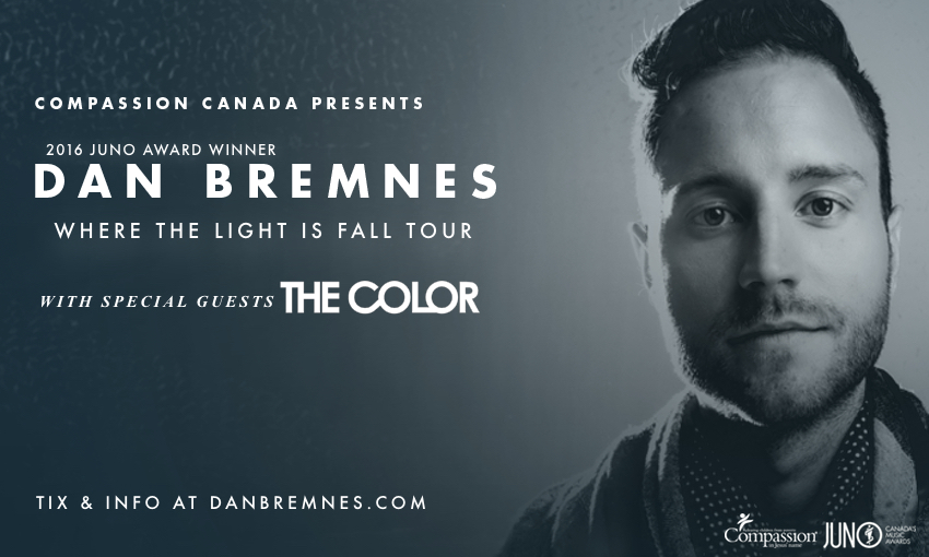 Tickets for DAN BREMNES, WHERE THE LIGHT IS FALL TOUR in Listowell from BuzzTix