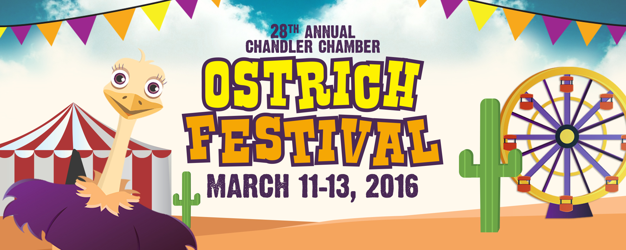 Tickets For 28th Annual Ostrich Festival In Chandler From