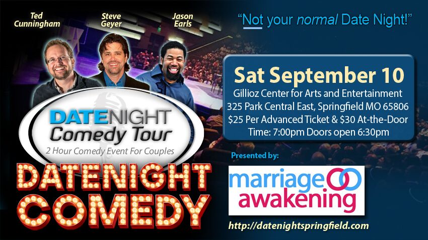 Tickets for Date Night  Comedy Tour in Springfield from BuzzTix