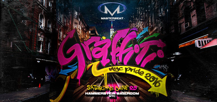 Tickets for NYC Pride: Graffiti in New York from ShowClix