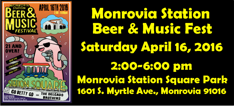Tickets for Monrovia Station Beer & Music Fest in Monrovia from BeerFests.com