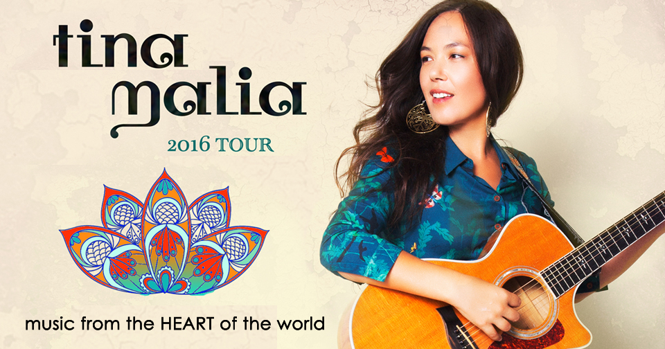 Tickets for Tina Malia: music from the HEART of the world in New York from BrightStar Live Events