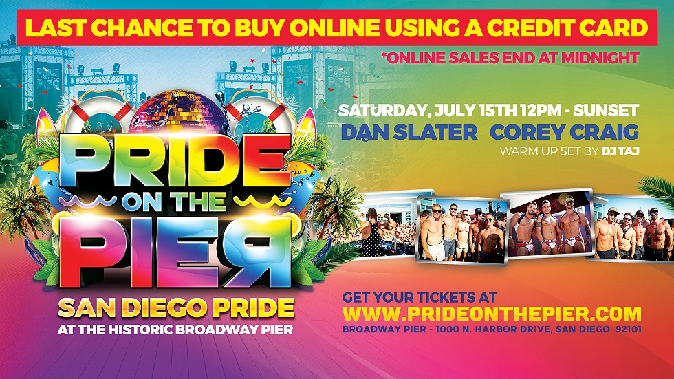 Tickets for Pride On The Pier 2017 in San Diego from ShowClix