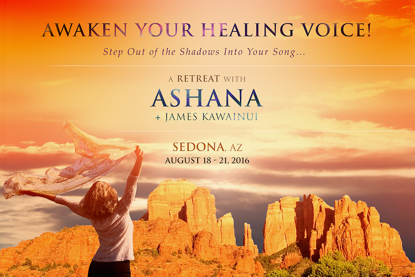 Tickets for Awaken Your Healing Voice Retreat: with Ashana in Sedona from BrightStar Live Events