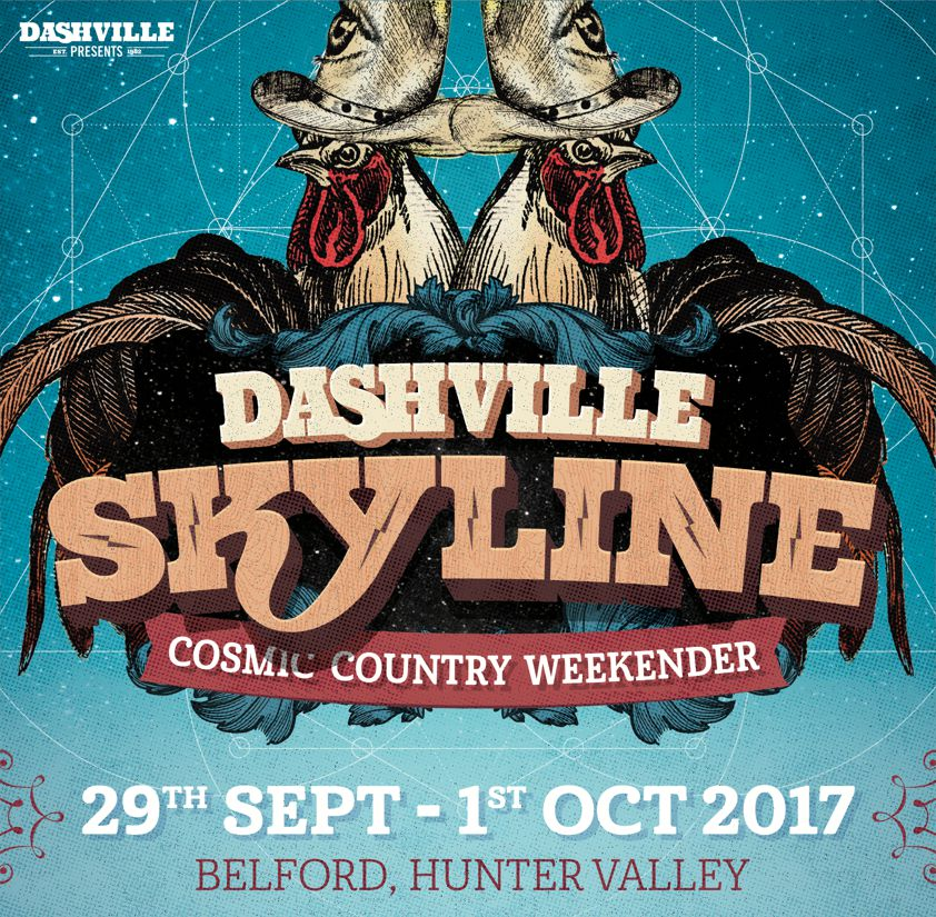 Tickets for Dashville Skyline - Cosmic Country Weekender in Hunter Valley from Ticketbooth