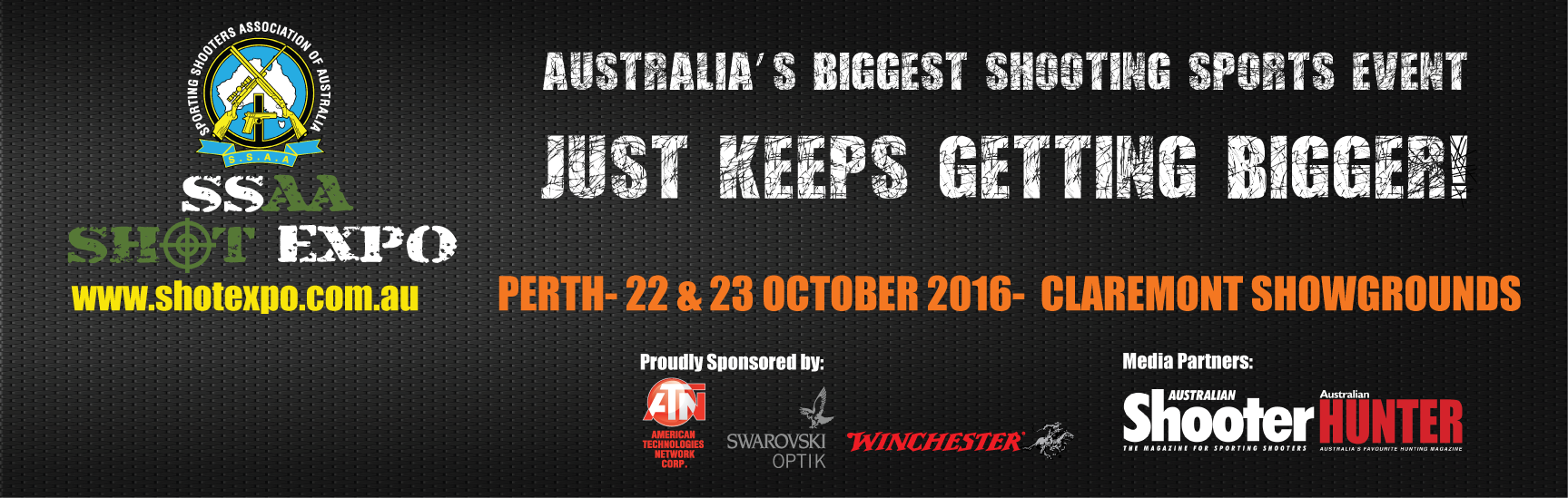 Tickets for SSAA SHOT Expo Perth 2016 in Claremont from Ticketbooth