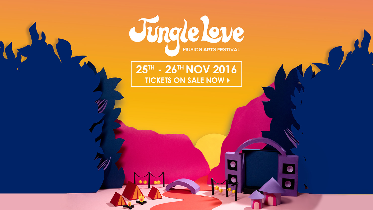 Tickets for Jungle Love Festival 2016 in Imbil from Ticketbooth