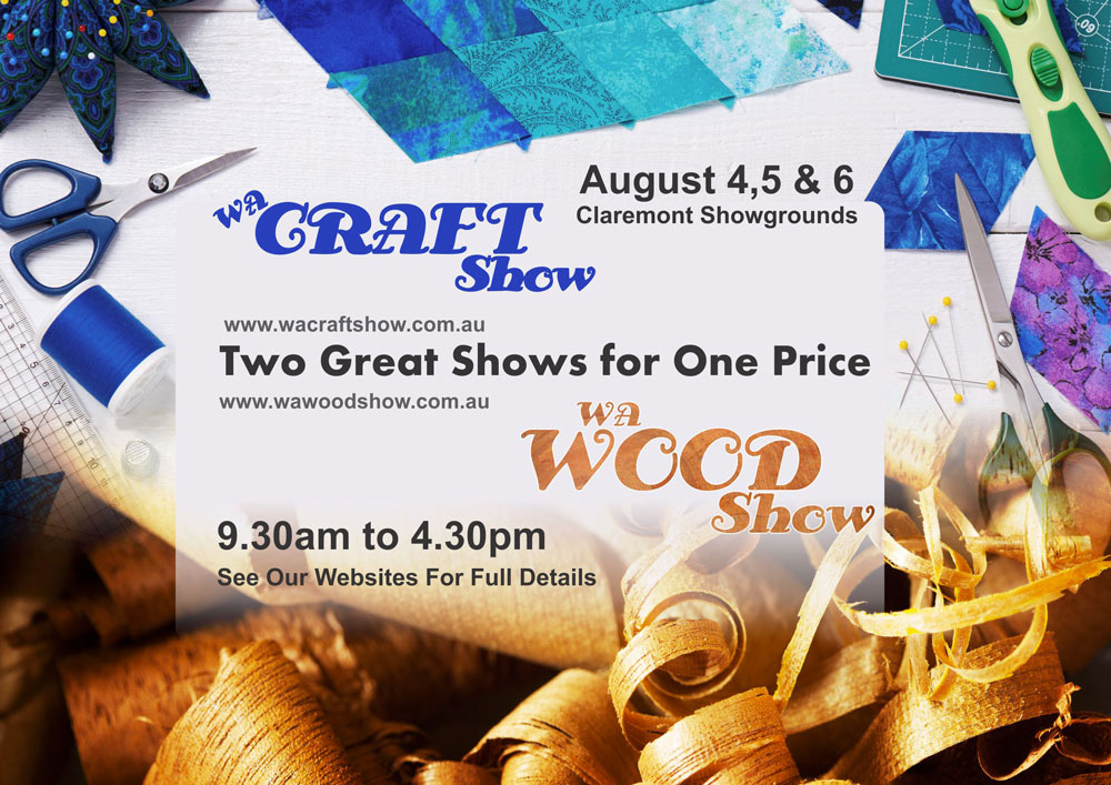 Tickets for WA Craft Show in Claremont from Ticketbooth