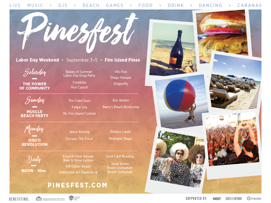 Find tickets from Pines Fest Charitable Foundation