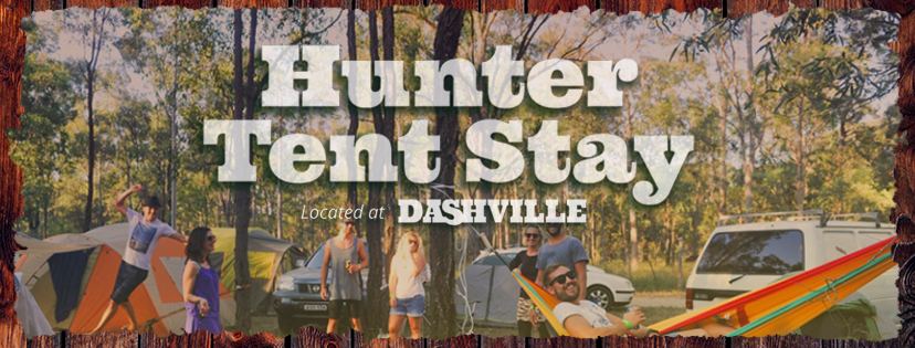Find tickets from Hunter Tent Stay - Dashville