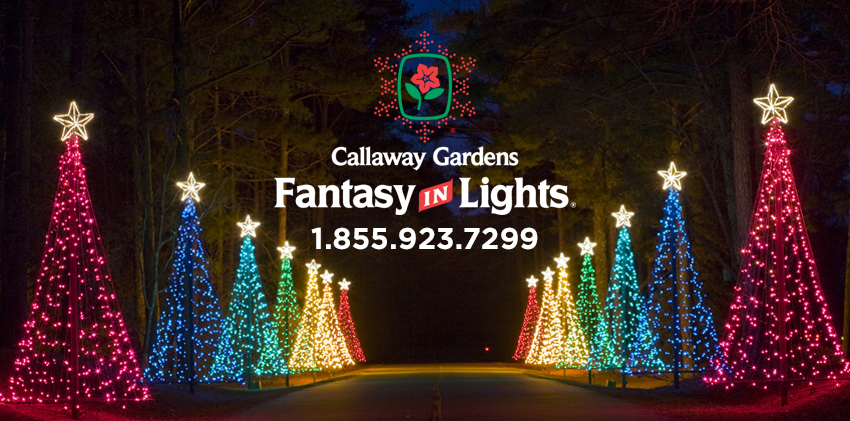 Callaway Gardens Christmas Lights.Fantasy In Lights Callaway Gardens
