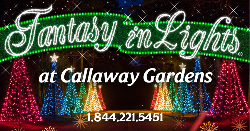 Tickets for motorcycle night at callaway gardens in pine - Callaway gardens christmas lights ...