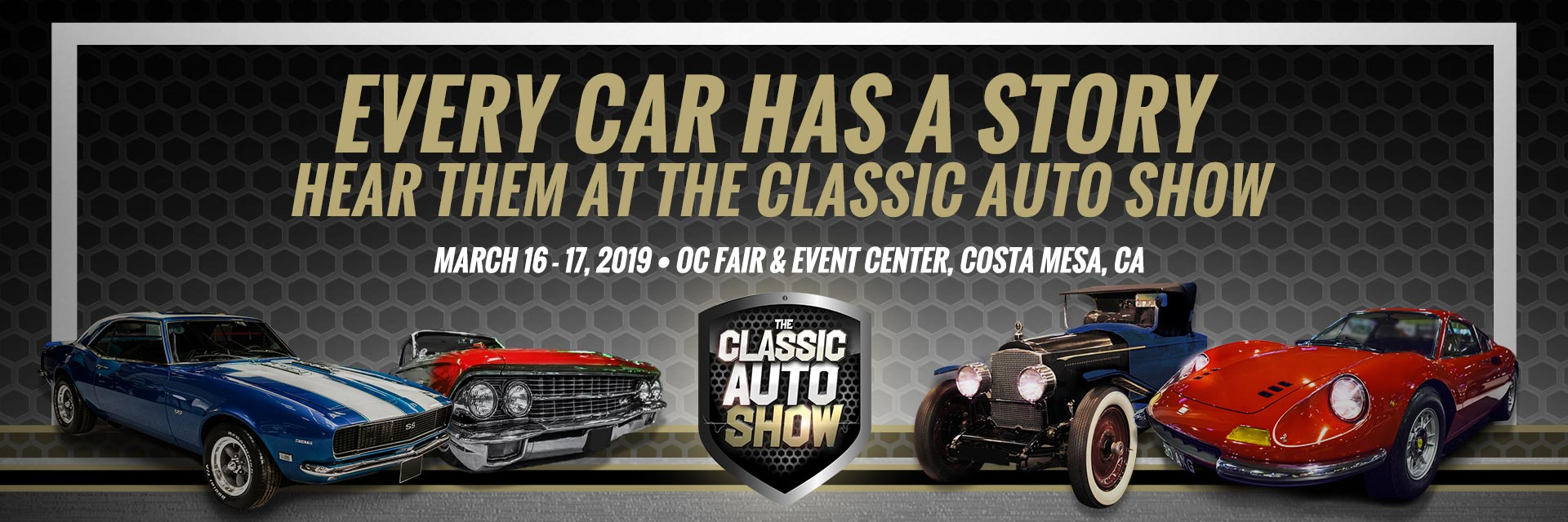 Tickets for 2019 LA Classic Auto Show in Costa Mesa from ShowClix