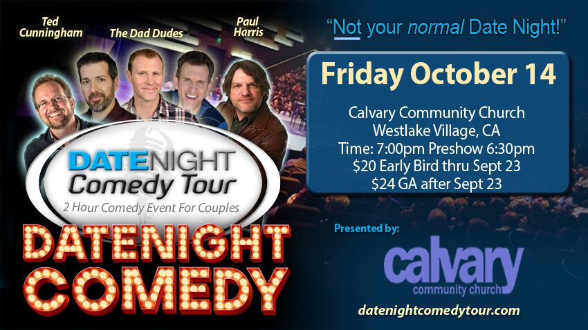 Tickets for Date Night  Comedy Tour in Westlake Village from BuzzTix