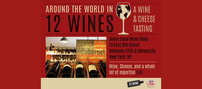 Tickets for Around The World In 12 Wines in New York City from ShowClix