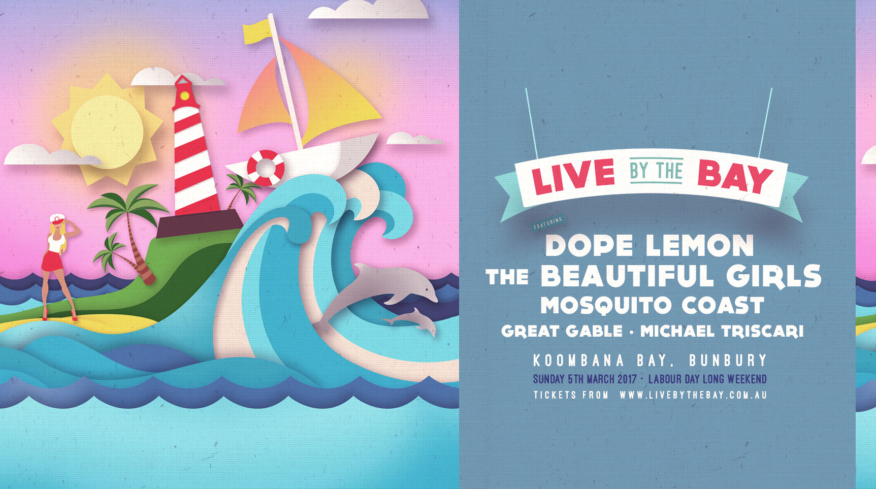 Tickets for Live By The Bay in Bunbury from Ticketbooth