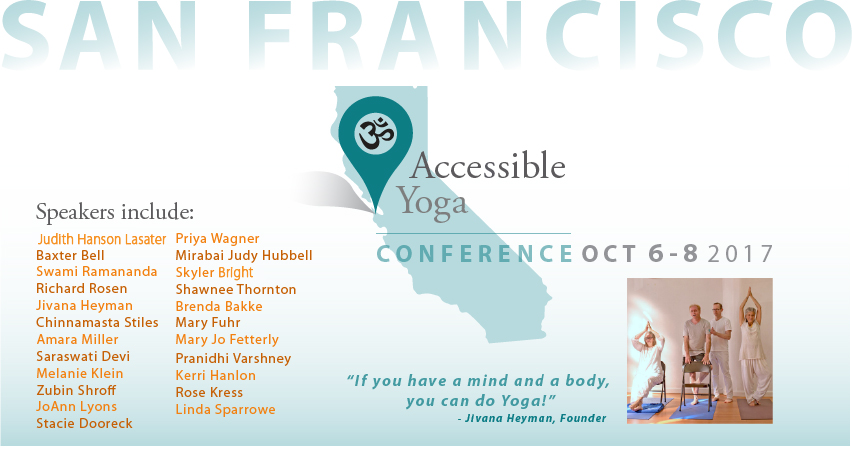 Tickets for Accessible Yoga Conference SF 2017 in San