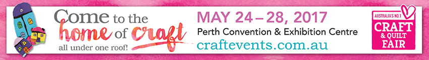 Tickets for Perth Craft & Quilt Fair in Perth from Ticketbooth