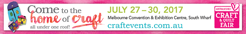 Tickets for Melbourne Craft & Quilt Fair in MELBOURNE from Ticketbooth
