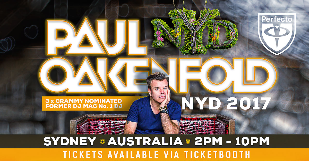 Tickets for RESOLUTION NYD ft. Paul Oakenfold in Sydney from Ticketbooth