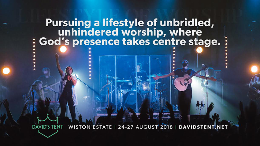 Tickets for David's Tent 2018 in Steyning from Ticketbooth Europe