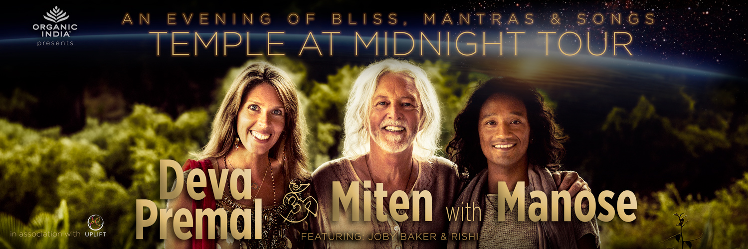 Tickets for Deva Premal & Miten with Manose in Houston from BrightStar Live Events
