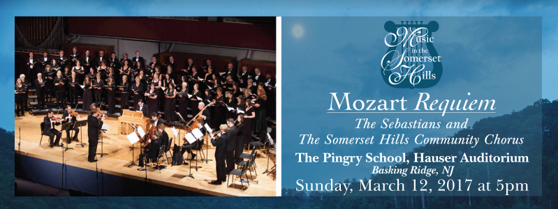 Tickets for Mozart's Requiem in Basking Ridge from ShowClix
