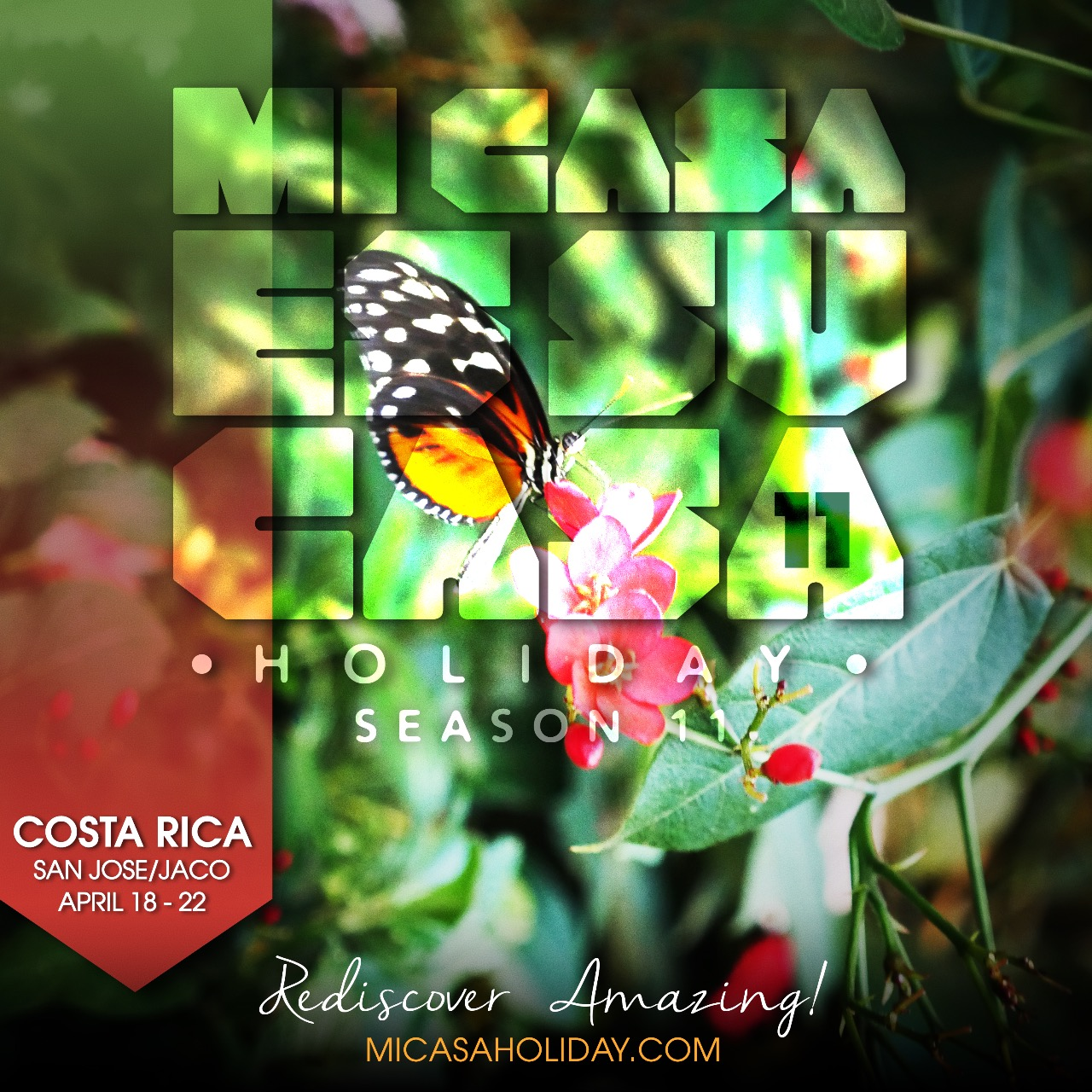 Tickets for MI CASA HOLIDAY 10 (Season Opener '18)-Costa Rica in San Jose Escazú from ShowClix