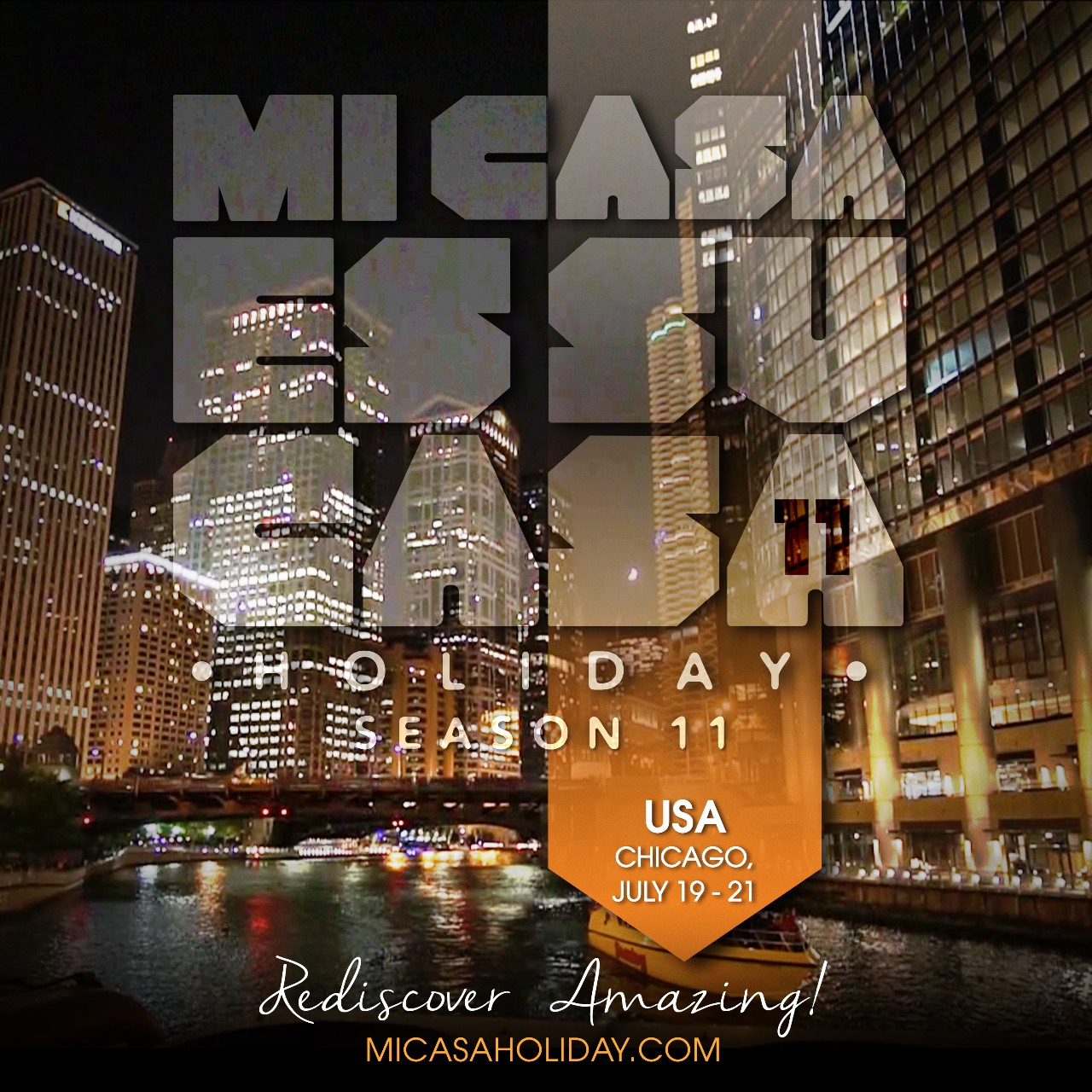 Tickets for MI CASA HOLIDAY 10 (Boat party '18) -Chicago in Chicago from ShowClix