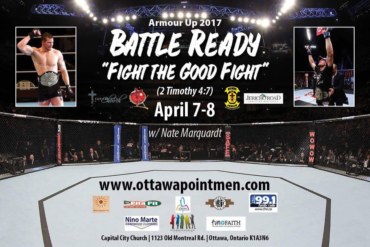 Tickets for Armour Up 2017 - Battle Ready,Fight The Good Fight in Ottawa from BuzzTix