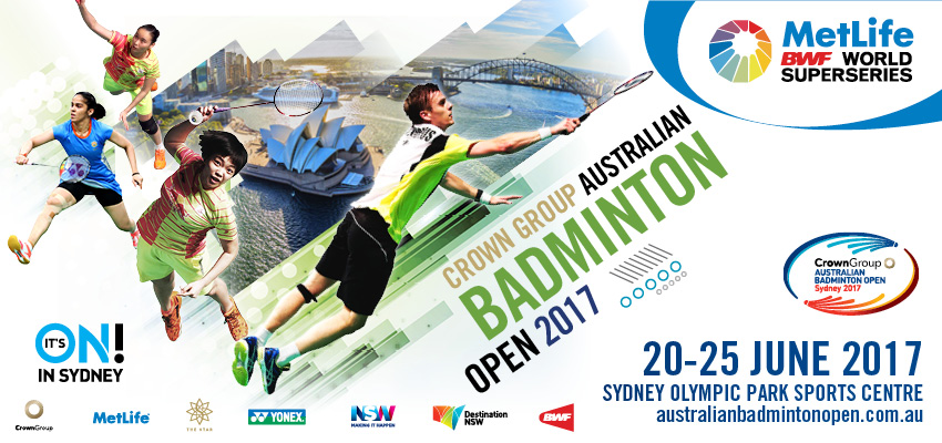 Find tickets from Badminton Australia