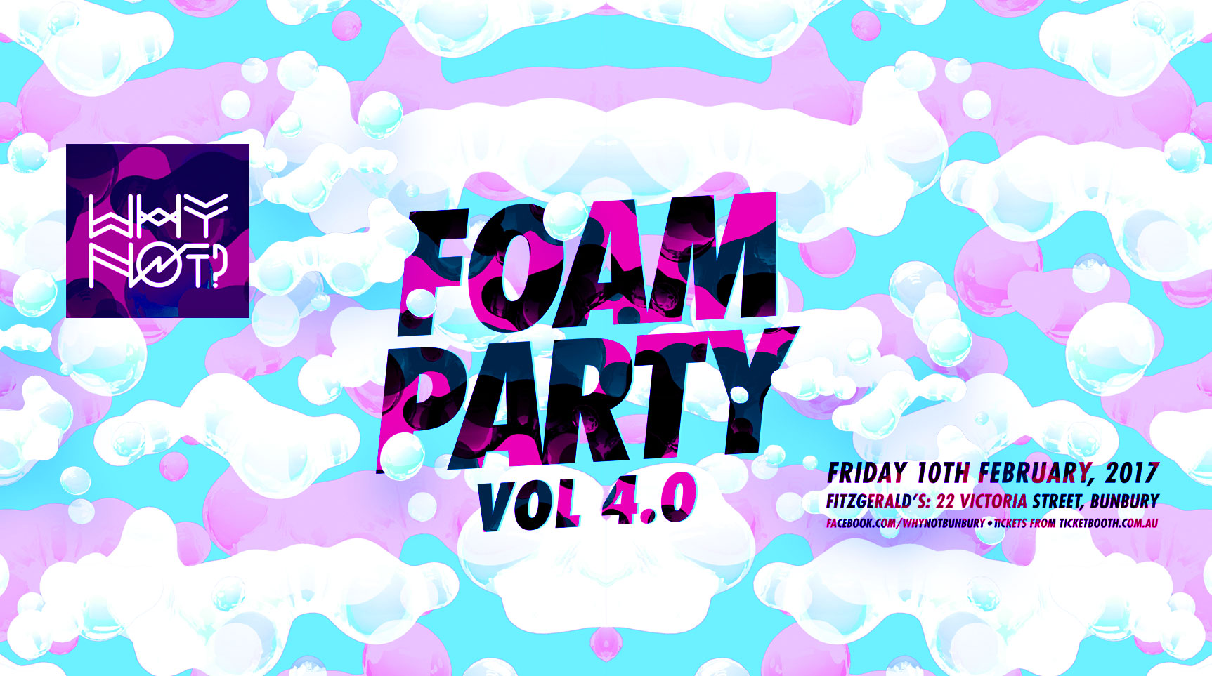 Why Not? FOAM PARTY Vol 4 0