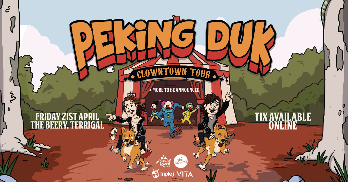 Tickets for Mountain Sounds Presents: Peking Duk in Terrigal from Ticketbooth