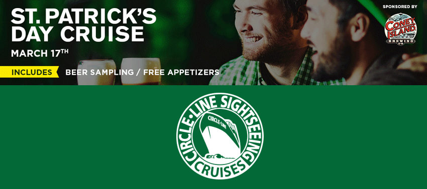 Tickets for St. Patrick's Day Cruise in New York from ShowClix