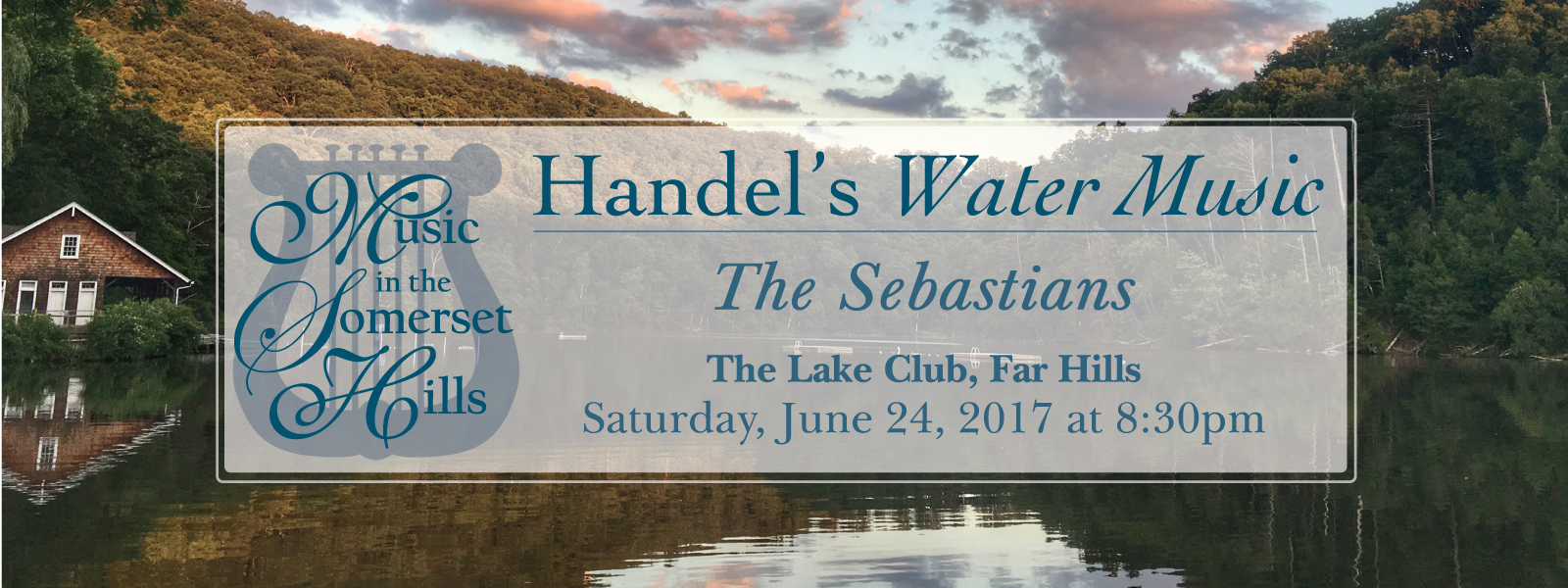 Tickets for Water Music on the Lake in Far Hills from ShowClix