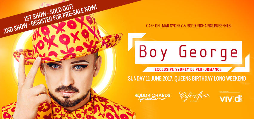 Tickets for Boy George Waitlist from Ticketbooth