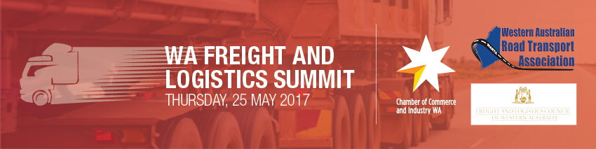 Tickets for WA Freight and Logistics Summit 2017 in East Perth from Ticketbooth