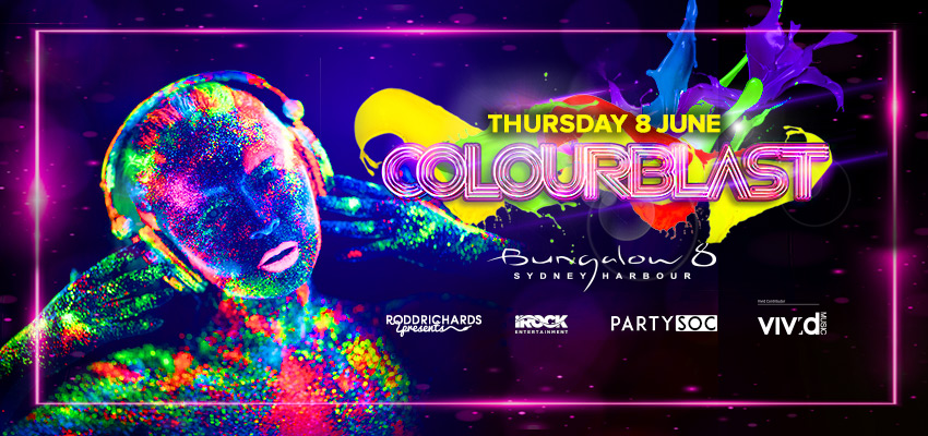 Tickets for VIVID SYDNEY COLOURBLAST PARTY in Sydney from Ticketbooth