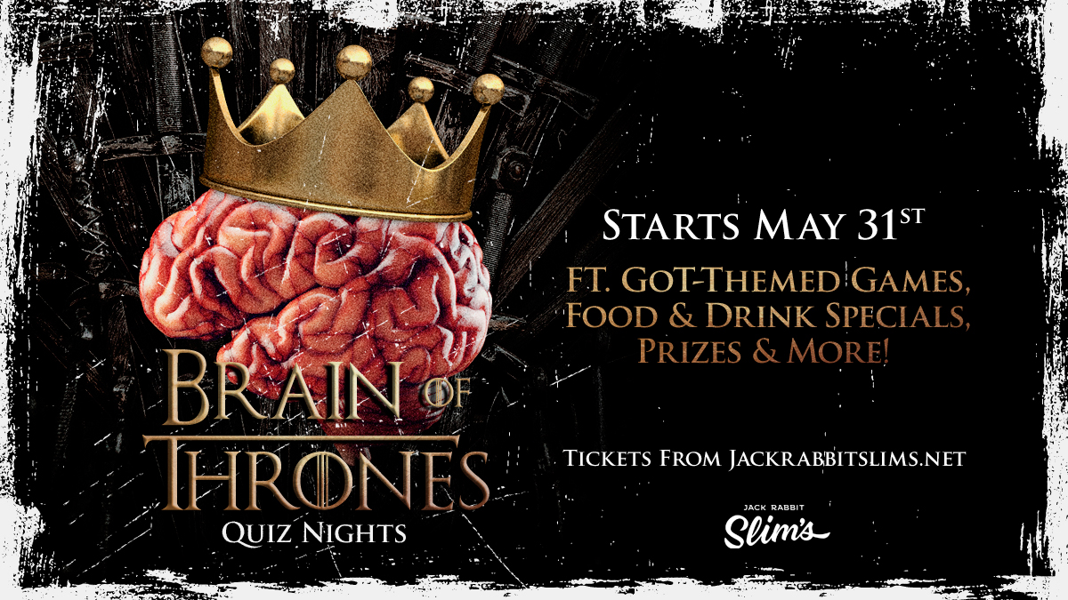 Tickets for Brain Of Thrones in Northbridge from Ticketbooth