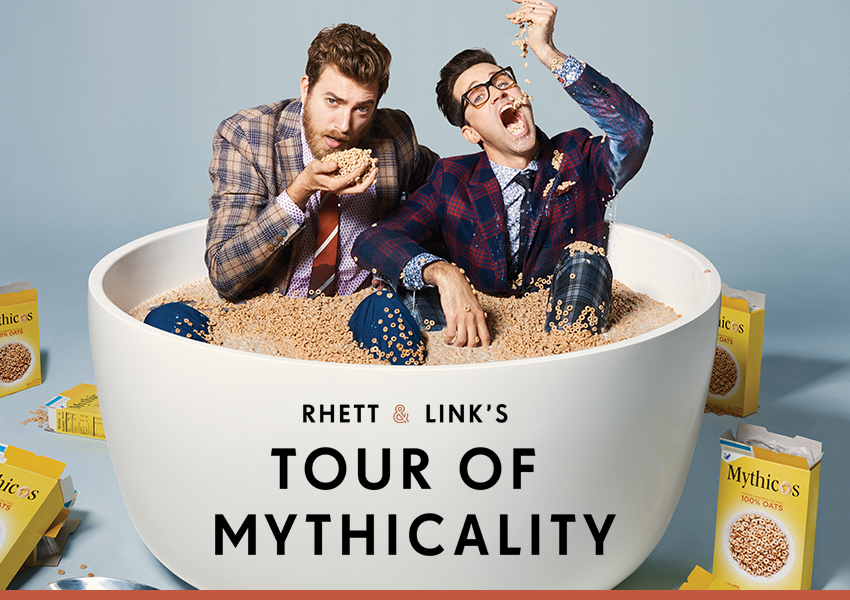 Tickets for Rhett & Link: Tour of Mythicality VIP Experience at Lincoln Theater in Washington from Artist Arena