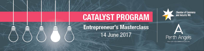 Tickets for Catalyst Program: Entrepreneur's Masterclass in East Perth from Ticketbooth